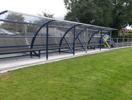 Banbridge Rugby Club Dugouts